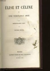 Bibliotheque De La Jeunesse Chretienne 5eme Serie - Elise Et Celine - Couverture - Format classique