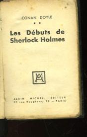 Les Debuts De Sherlock Holmes - Couverture - Format classique