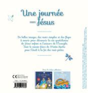Une journée avec Jésus - 4ème de couverture - Format classique