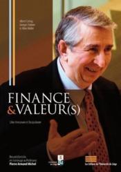 Finance & valeur(s) - Couverture - Format classique