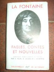 Fables, contes et nouvelles - Couverture - Format classique