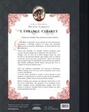 L'étrange cabaret ...des fées désenchantées - 4ème de couverture - Format classique