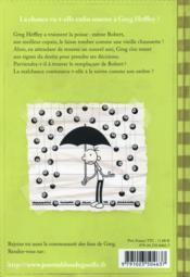 Journal d'un dégonflé T.8 ; pas de bol ! - 4ème de couverture - Format classique