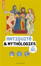 Antiquité et mythologies en BD - Couverture - Format classique