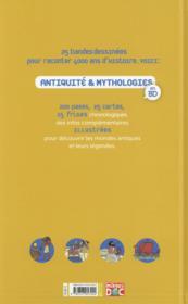 Antiquité et mythologies en BD - 4ème de couverture - Format classique