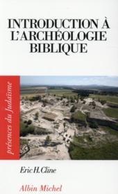 Introduction à l'archéologie biblique - Couverture - Format classique