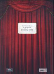 L'ours qui jouait du piano - 4ème de couverture - Format classique