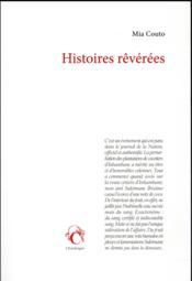 Histoires rêvérées - Couverture - Format classique