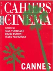 REVUE CAHIERS DU CINEMA N.722 ; Cannes 2016 - Couverture - Format classique