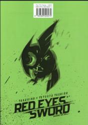 Red eyes sword - Akame ga Kill T.8 - 4ème de couverture - Format classique