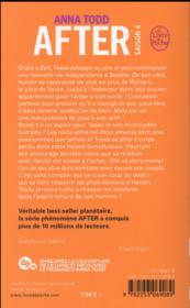 After T.4 ; after we rise - 4ème de couverture - Format classique