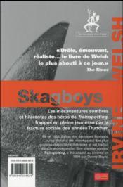 Skagboys - 4ème de couverture - Format classique