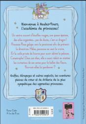 Princesse catastrophe T.2 ; deuxième trimestre à Hautes-Tours - 4ème de couverture - Format classique