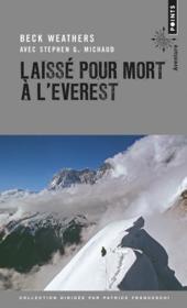 Laissé pour mort à l'Everest - Couverture - Format classique