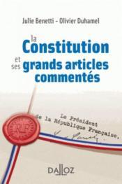 Les grands articles de la constitution française commentés - Couverture - Format classique