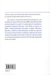 Mes années au musée d'Orsay : 2008-2017 - 4ème de couverture - Format classique