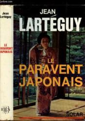 Le Paravent Japonais - Couverture - Format classique