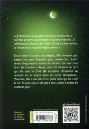 Le manoir - saison 1 t.4 ; Nic et le pacte des démons - 4ème de couverture - Format classique