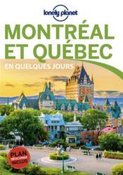 Montréal et Québec (4e édition) - Couverture - Format classique