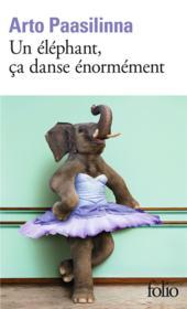 Un éléphant, ça danse énormément - Couverture - Format classique