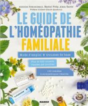 Le guide de l'homéopathie familiale - Couverture - Format classique