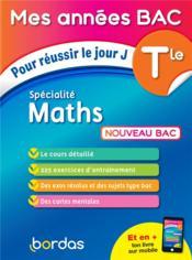 Terminale ; spécialité maths (édition 2020) - Couverture - Format classique