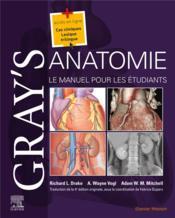 Gray's anatomie ; le manuel pour les étudiants (4e édition) - Couverture - Format classique