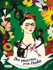 Des pinceaux pour Frida - Couverture - Format classique