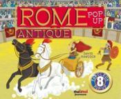 Rome antique pop-up - Couverture - Format classique
