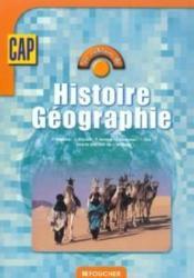 CAP : Histoire Géographie (les cahiers de) - Couverture - Format classique