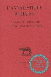 Annalistique romaine t3 (l') - Intérieur - Format classique