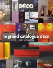 Grand catalogue de la deco - Intérieur - Format classique