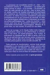 Guide Pratique De La Nouvelle Maman - 4ème de couverture - Format classique