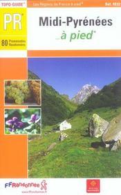 Midi-pyrenees a pied ned -09-12-31-32-46-65-81-82 - pr-re02 - Intérieur - Format classique