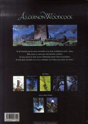 Algernon Woodcock t.5 ; Alisandre le bel - 4ème de couverture - Format classique