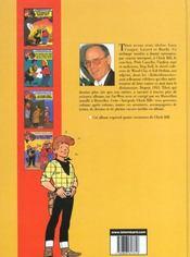 Chick Bill ; intégrale t.12 - 4ème de couverture - Format classique