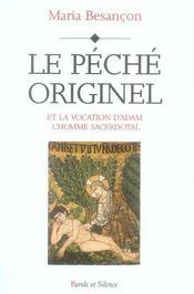 Le péché originel et la vocation d'adam l'homme sacerdotal - Intérieur - Format classique