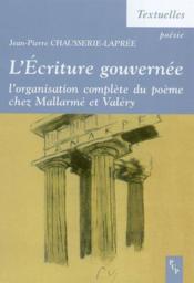 L'Ecriture Gouvernee - Couverture - Format classique