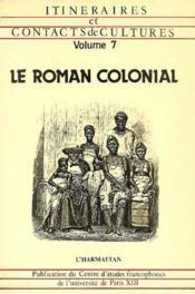 Le Roman Colonial - Couverture - Format classique