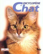 Encyclopedie du chat - Intérieur - Format classique