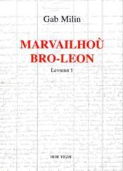 Marvailhoù bro-leon levrenn 1 - Couverture - Format classique
