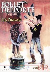 Les Zingari t.1 - Couverture - Format classique