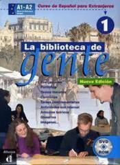 Biblioteca De Gente 1 - Dvd - Couverture - Format classique