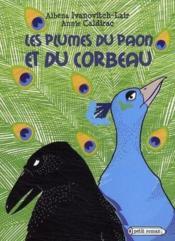 Les plumes du paon et du corbeau - Couverture - Format classique