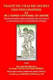 Traité du vrai secret des philosophes et de l'esprit universel du monde - Couverture - Format classique