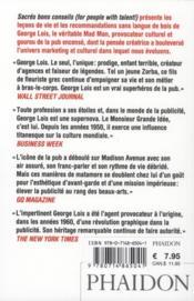 Sacrés bons conseils (for people with talent) - 4ème de couverture - Format classique
