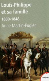 Louis-Philippe et sa famille ; 1830-1848 - Couverture - Format classique