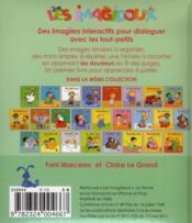 IMAGIDOUX ; le doudou - 4ème de couverture - Format classique