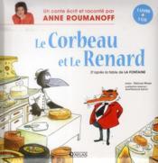 Théo le corbeau et maître Renard ; d'après la fable de La Fontaine - Couverture - Format classique