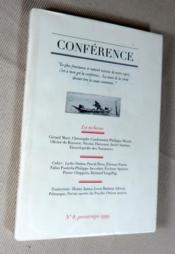 Conférence N° 8 : La richesse... Cahier... Traductions... Inédit. - Couverture - Format classique
